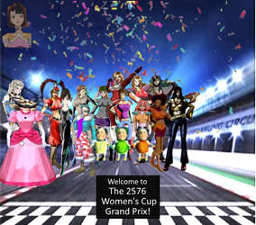 The F-Zero Women's Cup Grand Prix!