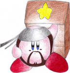 Solid Snake Kirby - Collab. by TheUltione