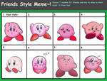 Friends' Style meme (Make your guesses!) by TheUltione