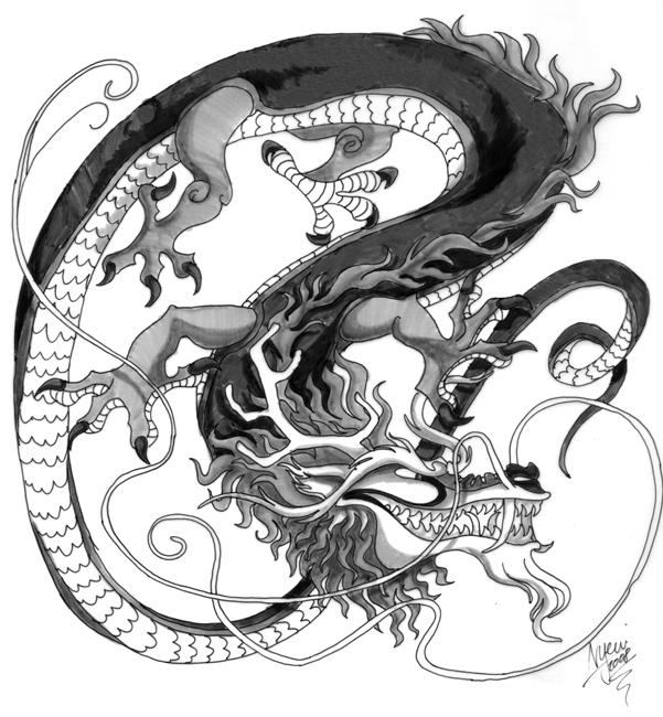 wannabe chinese dragon