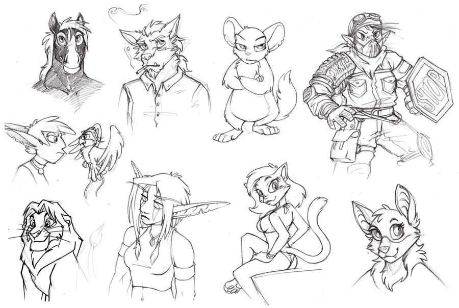 sketchdump from LS