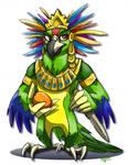 aztec parrot