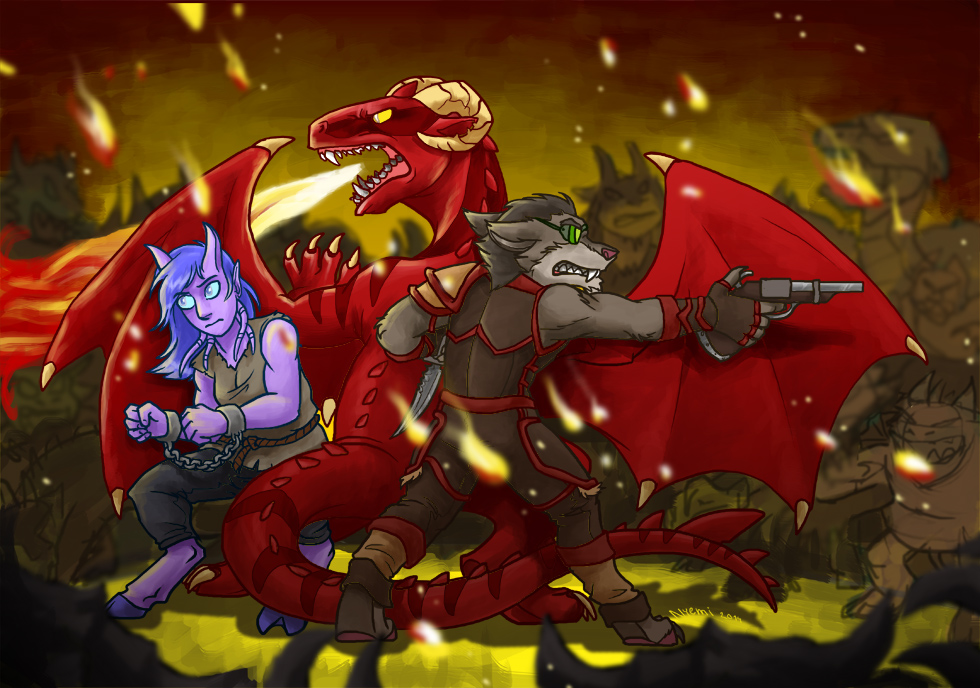such battle wow lots of fire much action