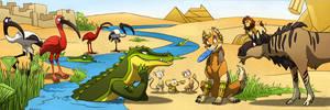 Nile tales in huge