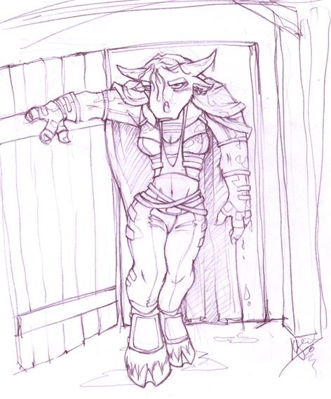 Kervera's entering