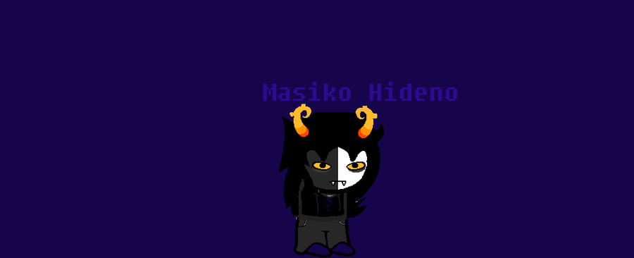 Masiko Hideno:New Fantroll by CALIBORNOuS