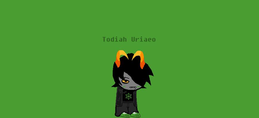 Fantroll Sprite:Todiah Uriaeo by CALIBORNOuS