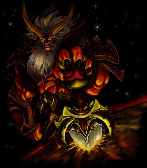 Searow - The Night Elf Traitor Sargeras___destroyer_of_worlds_by_Supremehydra