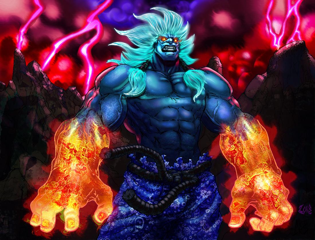 Oni Shin Akuma? Crip Akuma ^^ by Lu-Kutha
