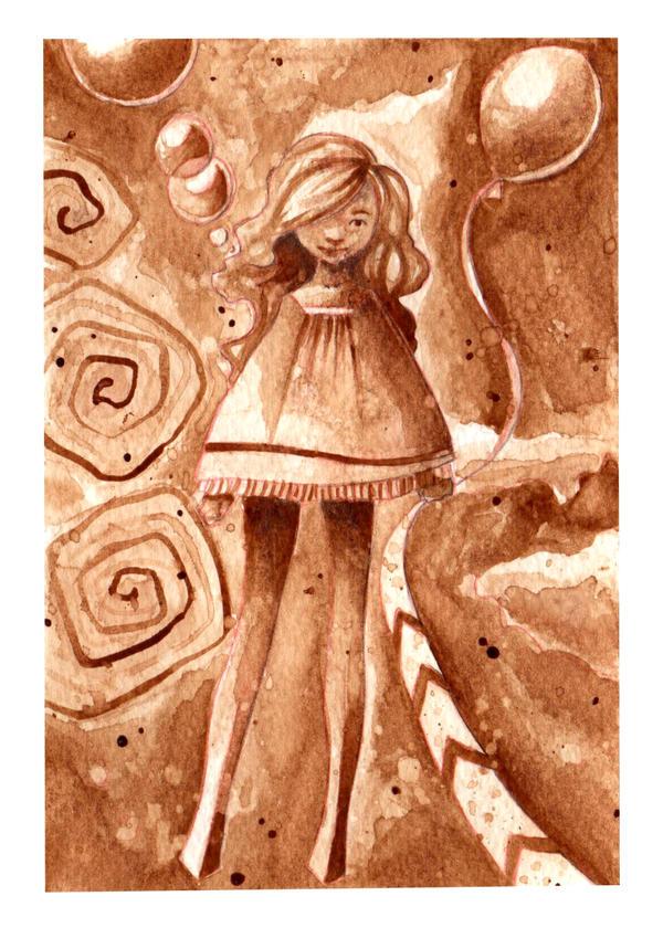 Coffee Girl by Toruu
