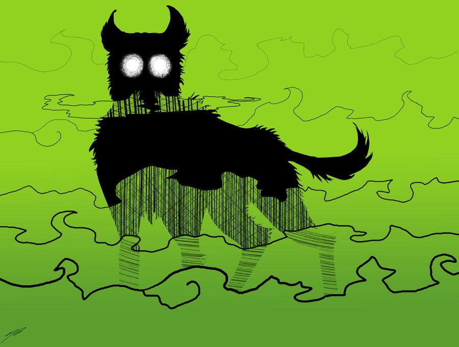 Styx's dog