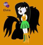 .:Elvira equestria girlfied Commision:. by xwerewolfprincessx