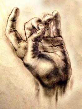 the hand muahahaha