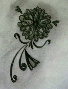 Flower - flower tattoo