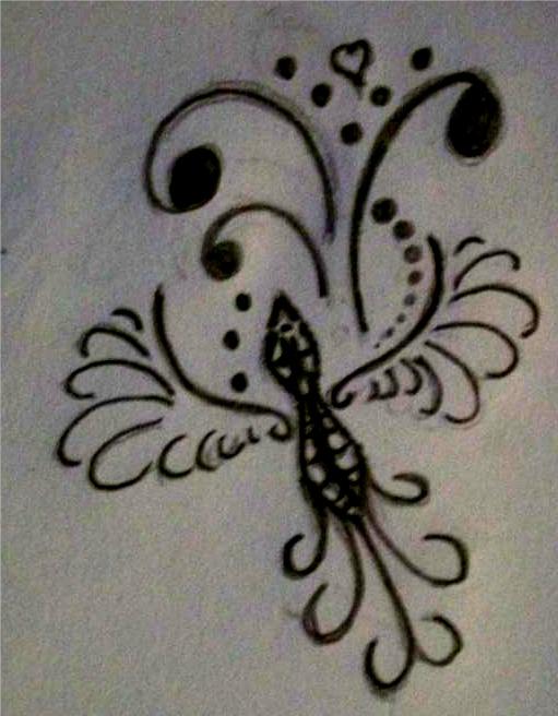 Bird Henna Tattoo: Tattoo Lawas: Tattoo Ideas By Patrick Gonzalez