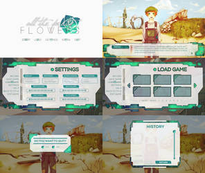 All The Pretty Flower UI