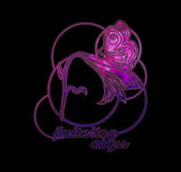 fluttering abyss logo by kathaeris