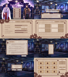 User Interface for Beyond The Abyss