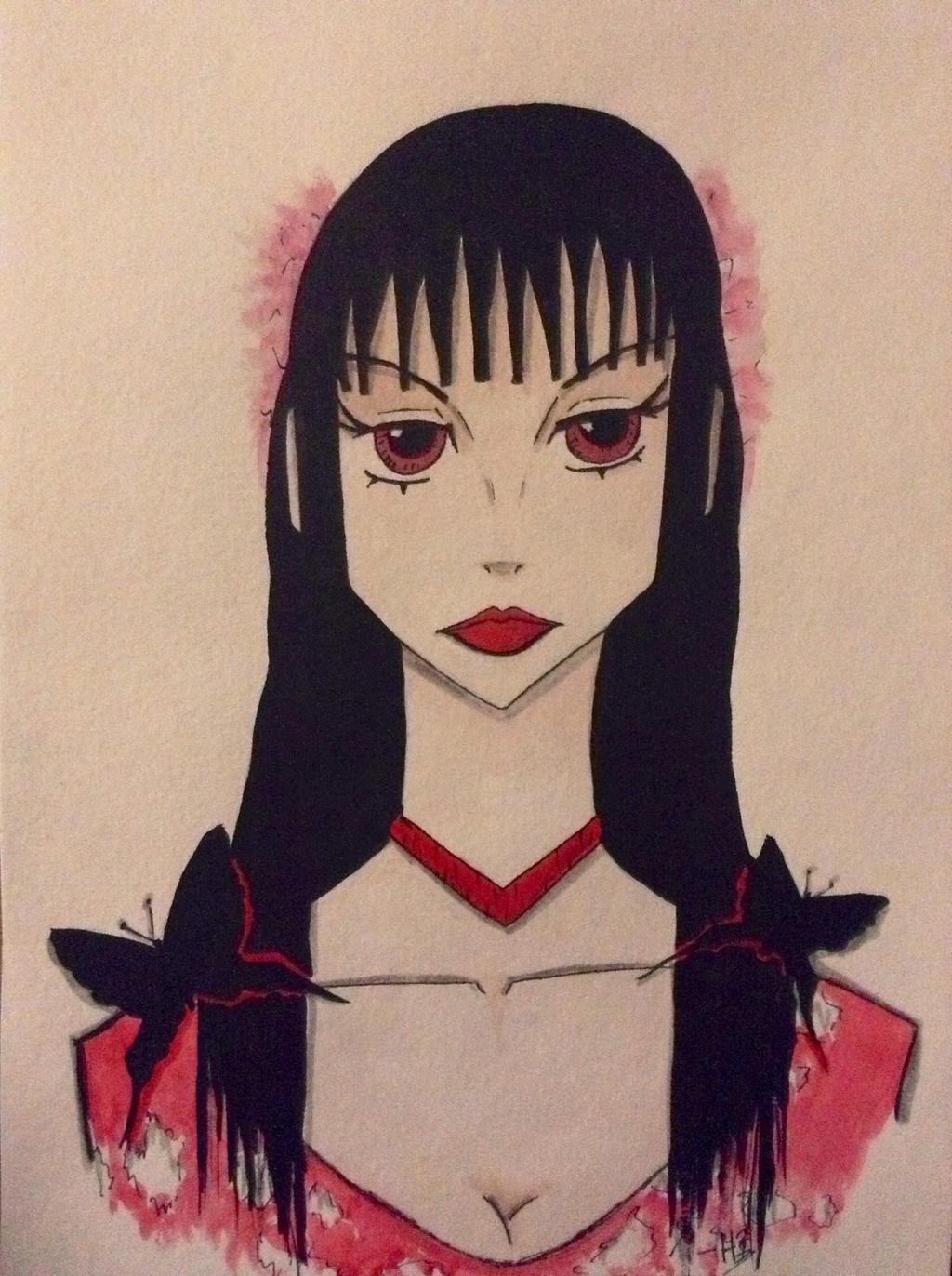 Yuko Ichihara by HaleyKlineArt