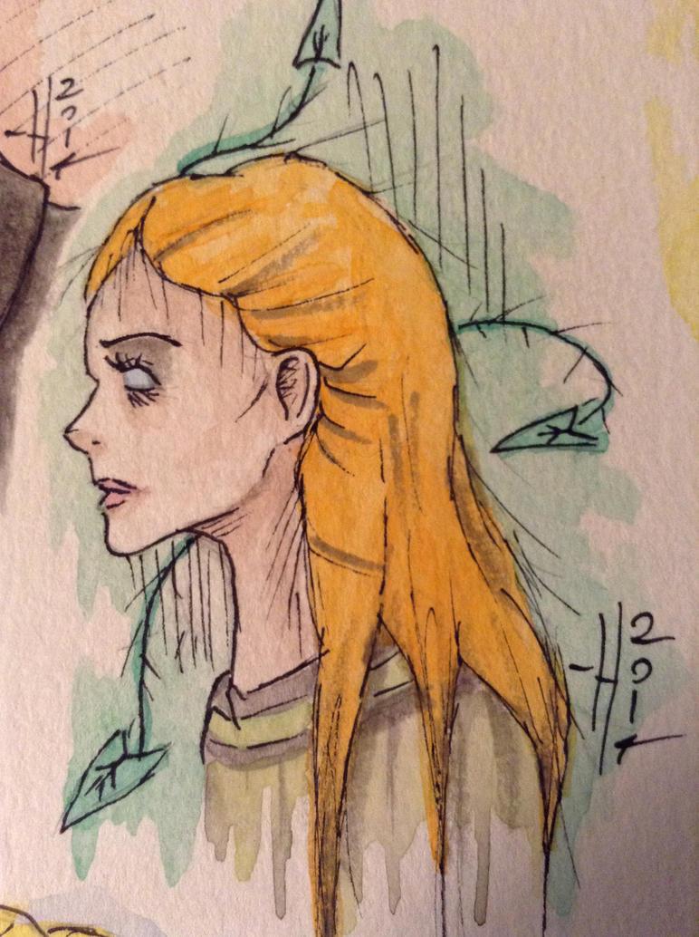 Ivy Pepper  by HaleyKlineArt
