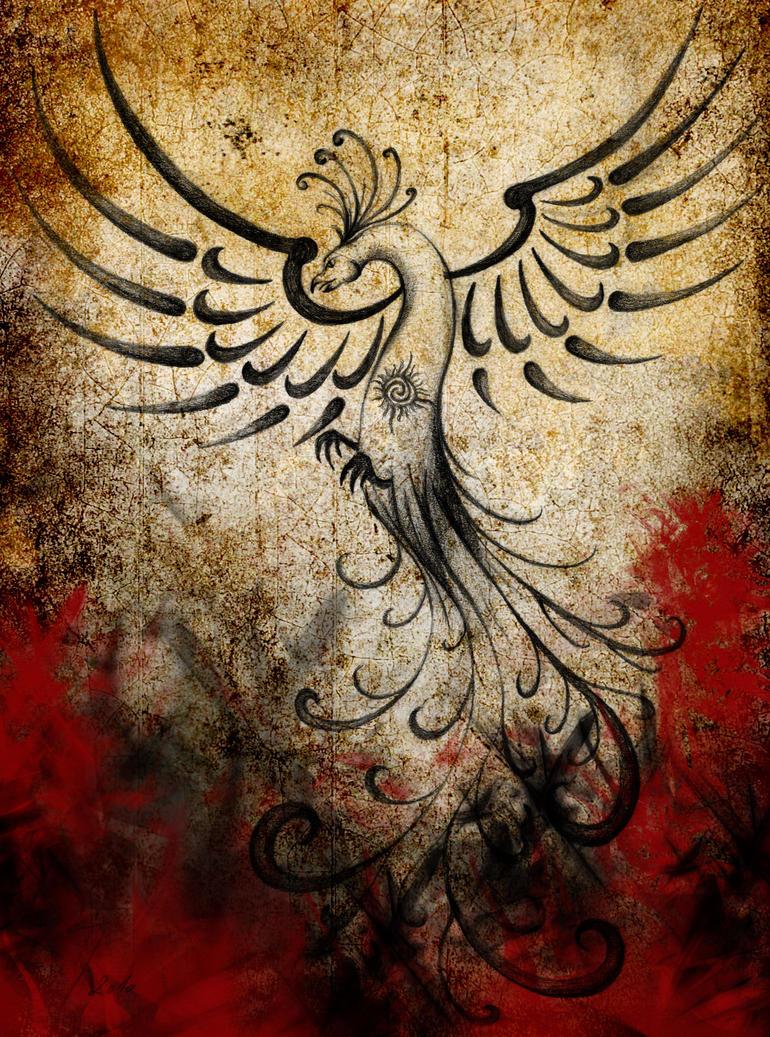 Feel the power of the Phoenix by korinoryu