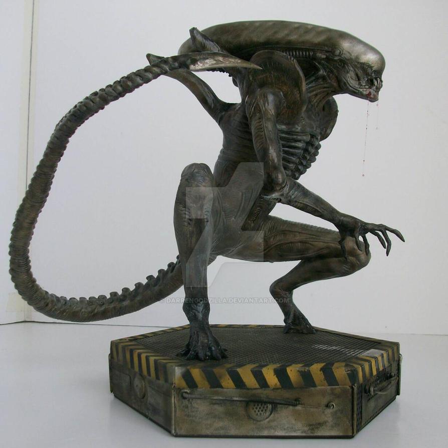 xenomorph, my version 1/5 scale  by darrengodzilla
