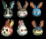 Animal Crossing Bunnies