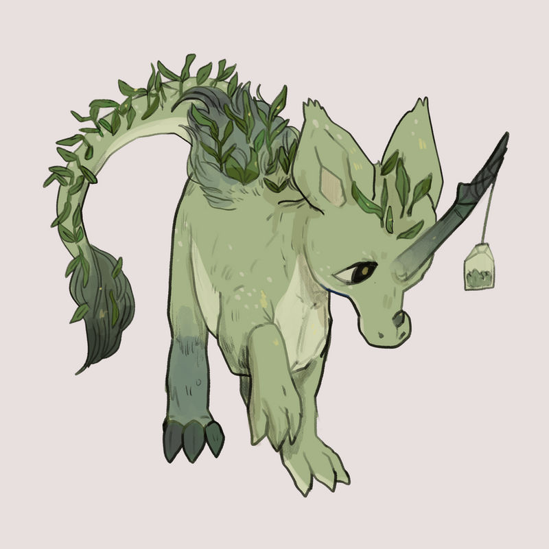 Green Tea (Commission- Norree)