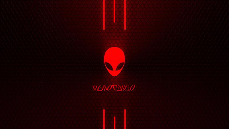 alienware desktop background red - photo #11
