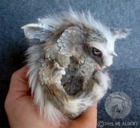 OOAK Furry Baby Dragon