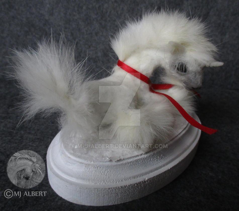 OOAK Unicorn Art Doll Sculpture by M-J-Albert