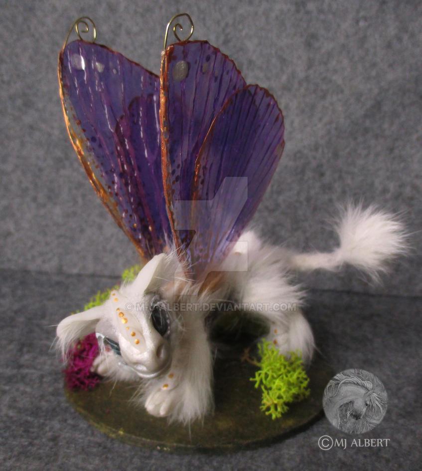OOAK Fairy Dragon Sculpted Art Doll by M-J-Albert