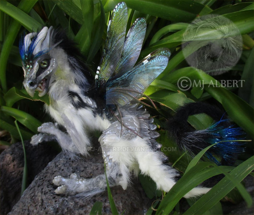 OOAK Dragon Art Doll by M-J-Albert
