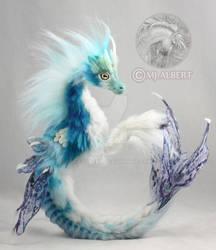 OOAK Hippocampus Poseable Art Doll