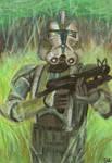 commander gree sketch card