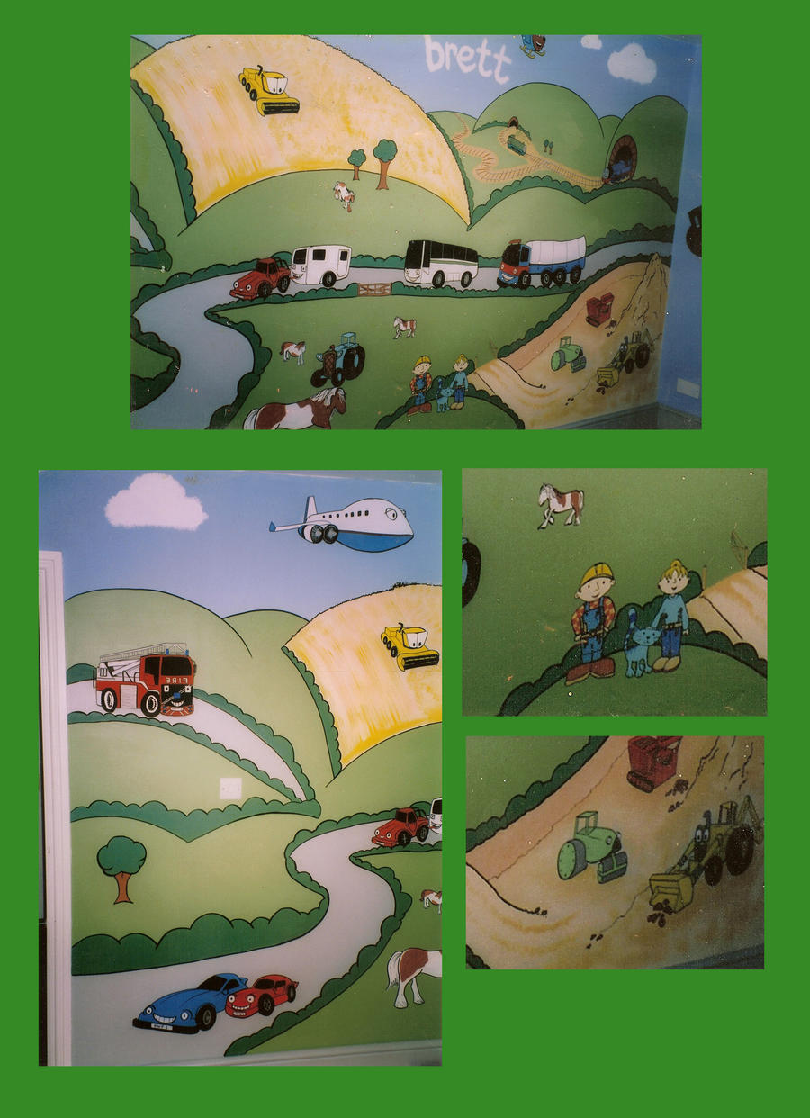 Bob the builder wall mural by slave roc on deviantart for Bob the builder wall mural