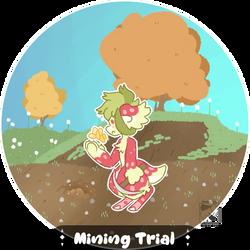 [ BB || Mining Trial ] Yellow Quartz by HiddenTriforce