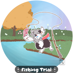 [ BB || Fishing Trial ] Splish Splash by HiddenTriforce