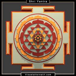 Shri-yantra-render3d by visuelalternatif