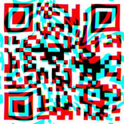 Qr code  psychedelic