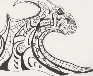 Absract dragon