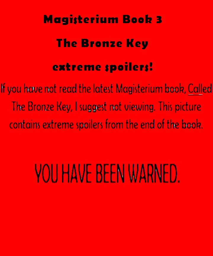 Spoiler Magisterium The Bronze Key Picture By BlazingPixels