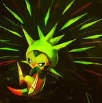 CHESPIN USED PIN MISSILE