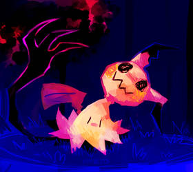 MIMIKYU USED SHADOW CLAW