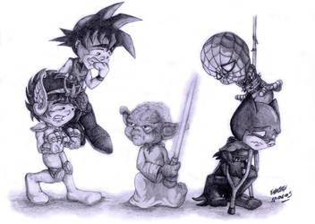 Master Yoda by Takateru