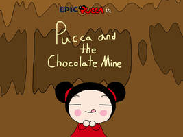 Pucca and the Chocolate Mine by rabbidlover01