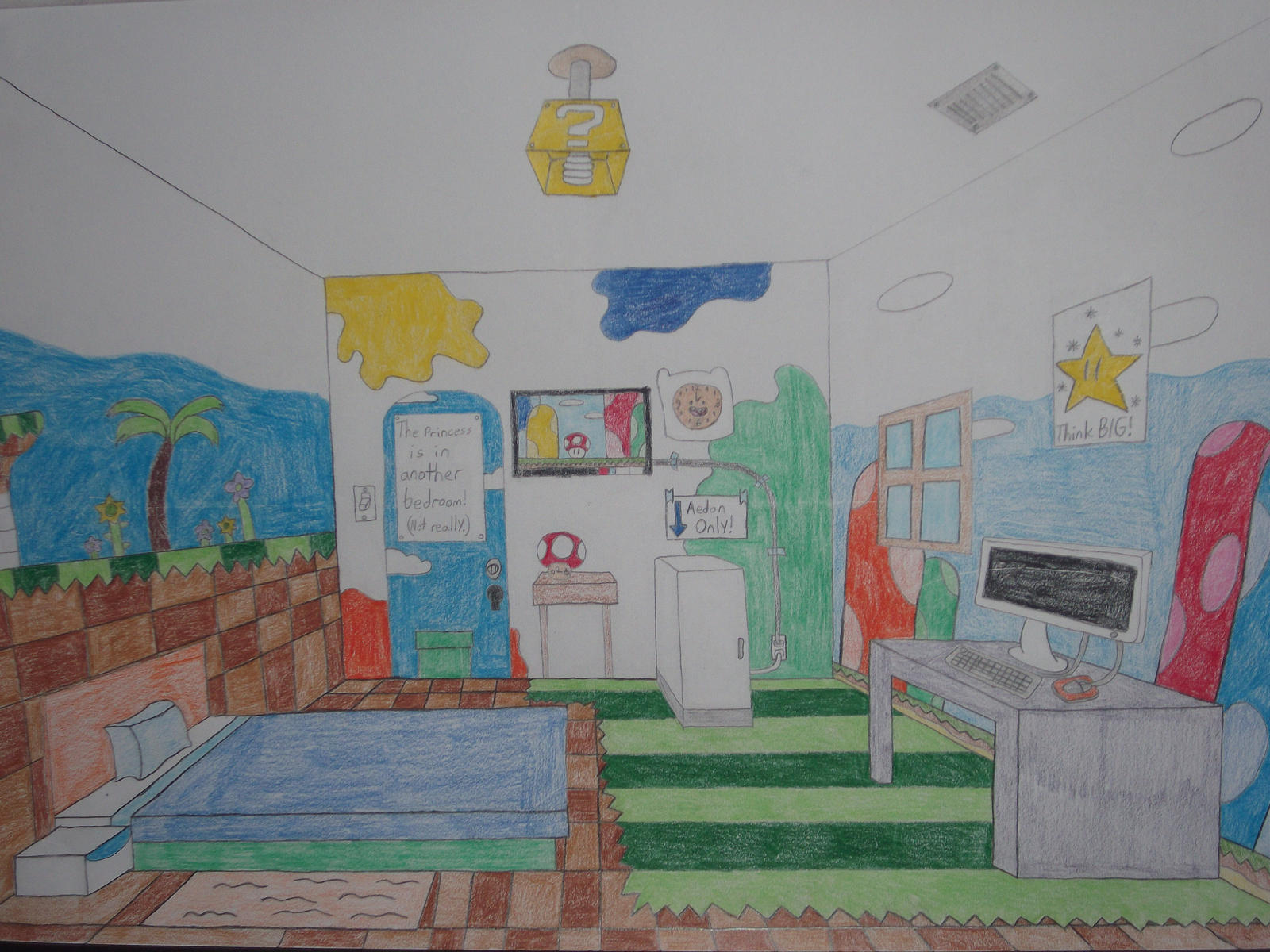 my dream bedroom for boys my dream room by rabbidlover01