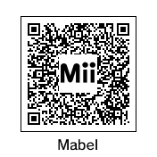 Mabel Pines QR Code by rabbidlover01