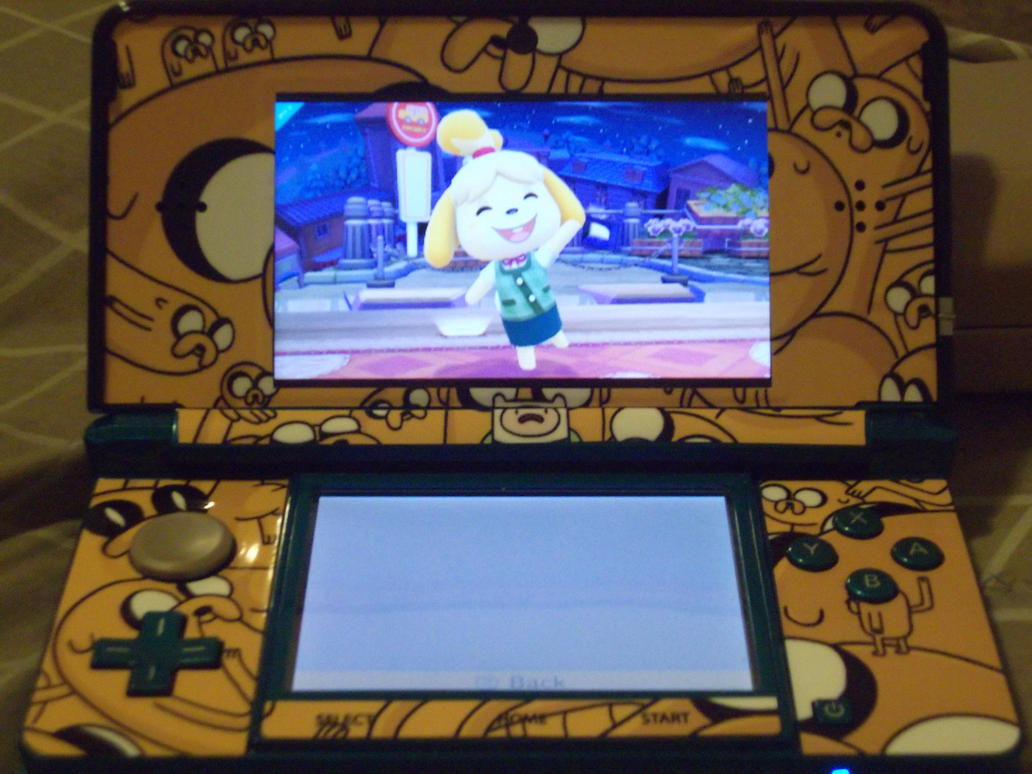 My new 3DS skins by rabbidlover01