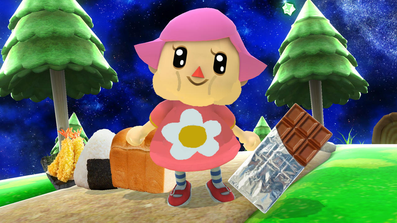 Chubby Pink Villager by rabbidlover01 on DeviantArt